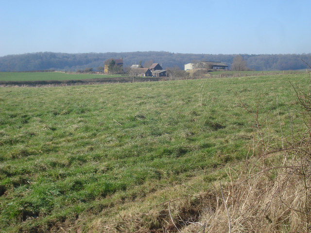 Farmland near Hillhouse Farm