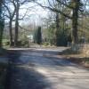 Lane junction near Stoneyard Green - 1