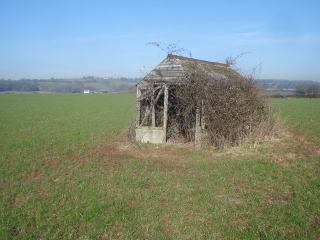 Small shed at Pow Green