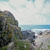 Seaward cliffs of Dun Gallain