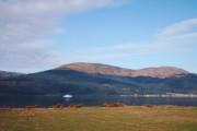 Frigate On Loch Long