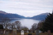 Loch Long Seen From Barbour Cemetery