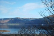 View across Loch Long to Gairletter Point