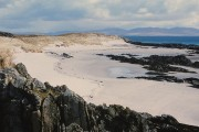 Unspoilt white beach of Colonsay