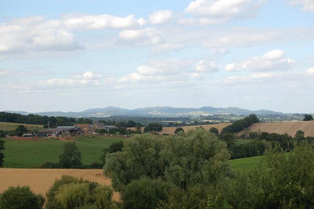 Farmland near Aston Crews