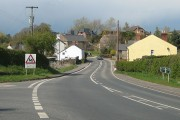 A40 passing through Ryeford