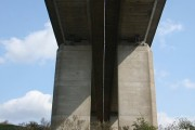 Orwell Bridge from below
