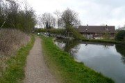 Chesterfield Canal - Approaching Shireoaks Bottom Lock No 44