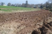 Fresh ploughing at Boyce Court