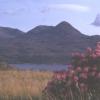 Ben Damph from across Loch Torridon