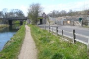 Chesterfield Canal - Footpath, Road and Rail