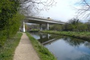 Chesterfield Canal - View of A57 Flyover