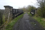 Teversal Trail - View of former Railway Bridge
