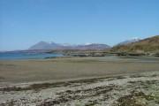 Beach at Gillean