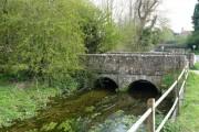 Idmiston - Bridge Over The River Bourne
