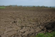 Ploughed fields at Elmore