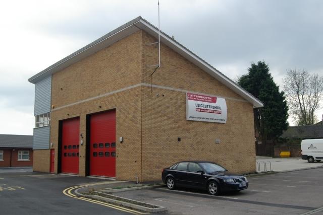 Lutterworth Fire Station