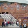 Arriving at The Holte End: Villa Park