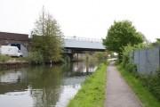Piccadilly Line railway bridge over Paddington Arm