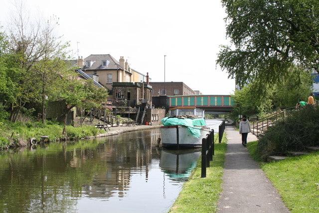 Back Acton Lane Bridge 9 Paddington Arm Grand Union Canal