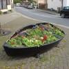 Boat Flowerbed