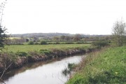 River Eden west of Edenbridge