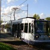 Tram at Herdings Park, Sheffield