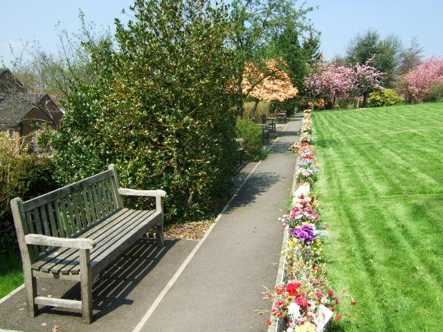 Upper garden of remembrance