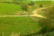 Fields and Roads, near Sanquhar