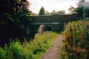 Pirbright Bridge and Deepcut Bottom Lock No 15, Basingstoke Canal