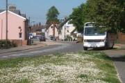 Ipswich Road, Claydon, looking north