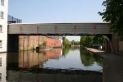 Enclosed bridge, Paddington Arm, Grand Union Canal