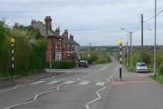 Measham Road in Oakthorpe, Leicestershire