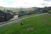 Low Row: main road through village