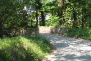 Bridge over stream near Hugos Farm