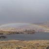 Rainbow over Loch an Nastairie