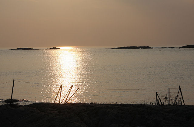 Evening silhouette at Port Mòr, Colonsay