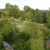 Walled garden - Monimail Tower
