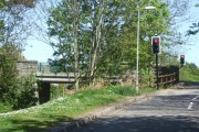 Bridge over old Deeside Railway
