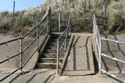 Access to Eccles Beach Caravan Park