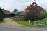 Entrance to Cotton End Farm, Wilstead