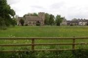 Down Hatherley church & meadow