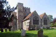 All Saints Church, Boughton Aluph, Kent