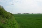 Farmland along the Hudson Way