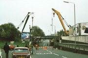 Botley Road bridge, Oxford - 1979 renewal