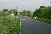Entering Swavesey