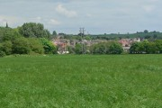View towards Blackfordby in Leicestershire