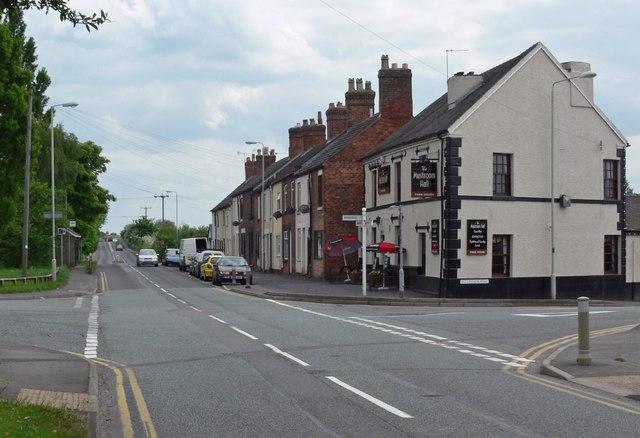 Albert Village in northwest Leicestershire