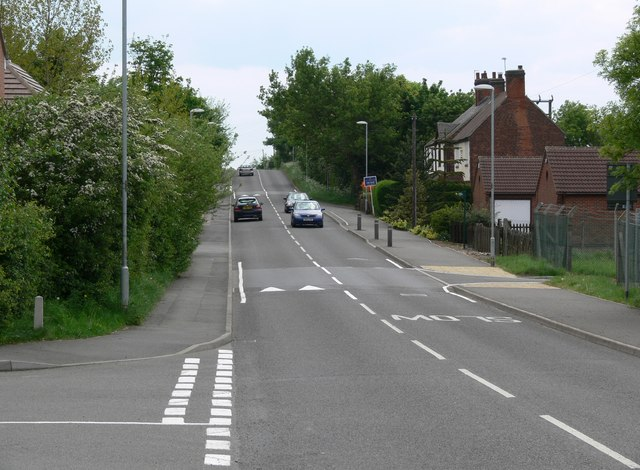 Occupation Road in Albert Village, Leicestershire