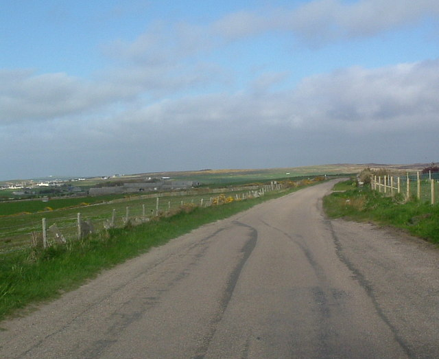 View east at West Canisbay